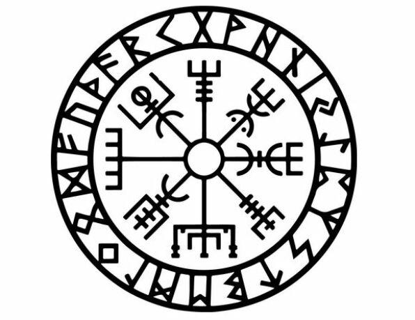 viking szimbólumok vegvisir